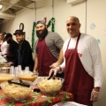 Philadelphia Eagles Serving Lunch