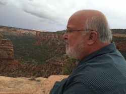 Bob at Colorado Monument