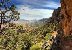 A view from the Colorado National Monument