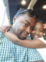 Hantz with his daughter, Teeyah